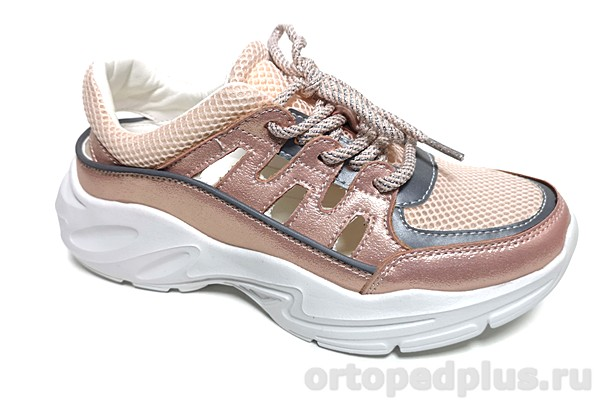 Комфортная обувь Кроссовки EV21201-01-16KK розовый