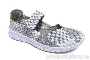 Туфли летние FUNNY-01 св. серый