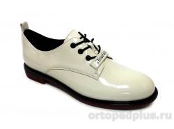 Туфли женские YZ-12-4-139 белый лак