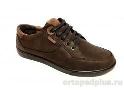 Туфли мужские 1012 коричневый/рыжий