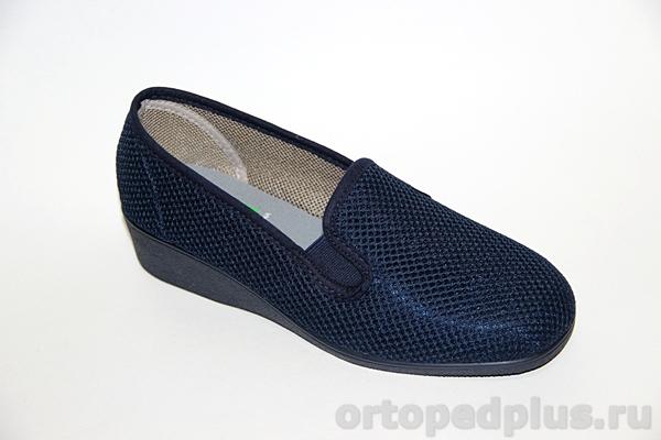 Комфортная обувь Туфли женские 183_11008_805 синий