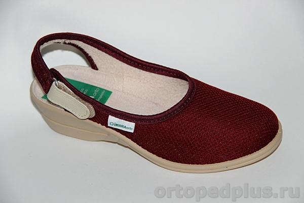 Комфортная обувь Босоножки 273_LANDY510_549 бордо