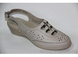 Туфли женские 617 бежевый