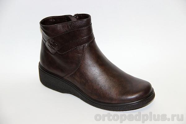 Комфортная обувь П/сапожки жен. 632-2 коричневый