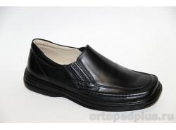 П/ботинки мужские 702 черный