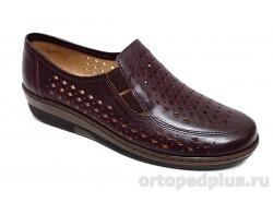 Женские туфли 814640-9 бордовый