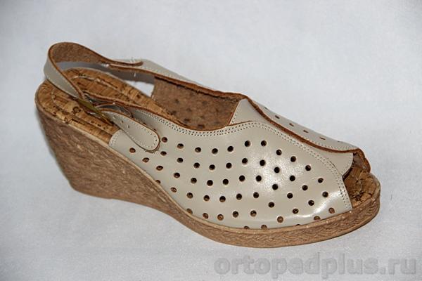 Комфортная обувь Босоножки 92/111 бежевый