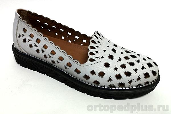 Комфортная обувь Туфли BTEL_BT-2511 110 св. серый