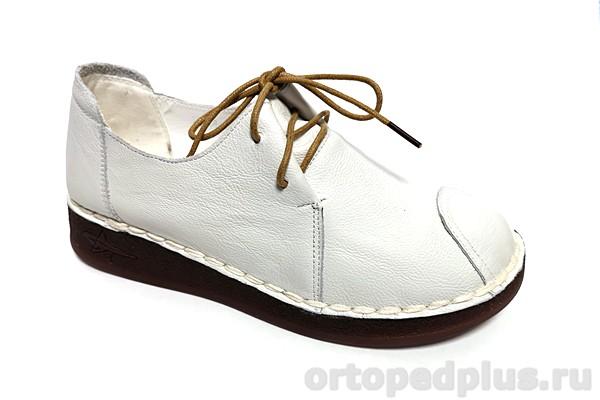 Комфортная обувь Туфли DB668-4 белый