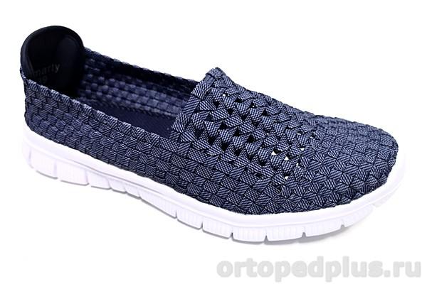 Комфортная обувь Туфли летние FUNNY-02 голубой