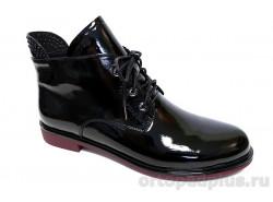 Ботинки женские YZ-11-3-168 черный лак