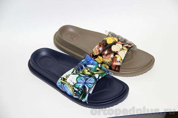 Комфортная обувь Cабо DF9001 коричн./т.синий