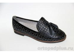 Туфли летние женские W13408 черный