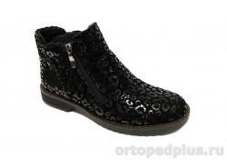 Ботинки жен. 132-8 2м черный