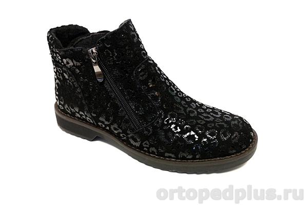 Комфортная обувь Ботинки жен. 132-8 2м черный