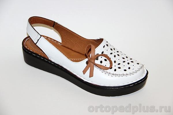 Комфортная обувь Босоножки 181128_LL_06_WHITE_LEATHER