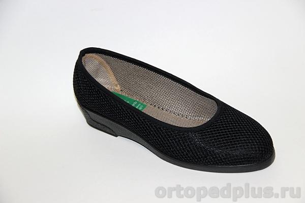 Комфортная обувь Туфли женские 183_83010_001 черный