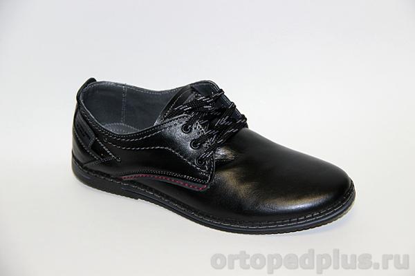Комфортная обувь Туфли мужские 1908 Тибр Черный лиц