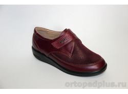 Туфли 231161 бордовый