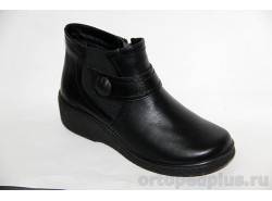 П/ботинки жен. 636-2 черный