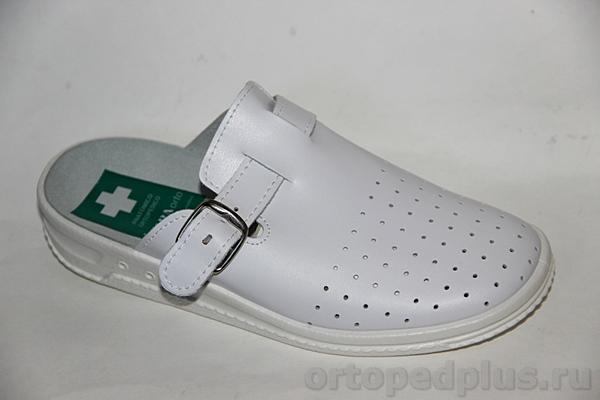 Комфортная обувь Сабо 73_8121D_1/6_100 белый