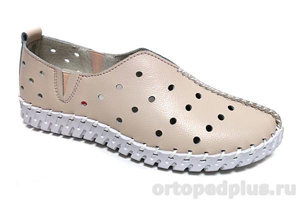 Комфортная обувь Слипоны EV17330-51-16KK розовый