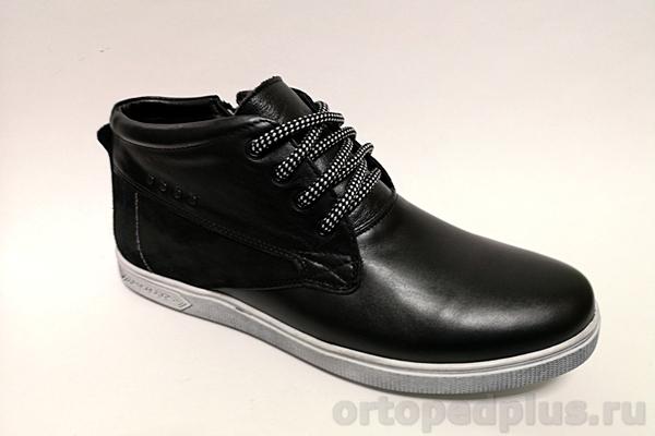 Комфортная обувь Ботинки мужские 08-20 шм F зимние черный