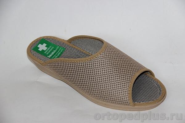 Комфортная обувь Босоножки текстильные 179_4109I8_400 бежевый