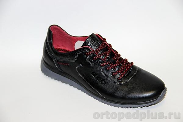 Комфортная обувь Туфли мужские 2023 В черный лиц