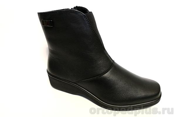 Комфортная обувь Полусапожки женские 6130-2 черный