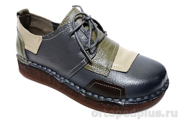 Комфортная обувь Туфли DB8369-2 серый