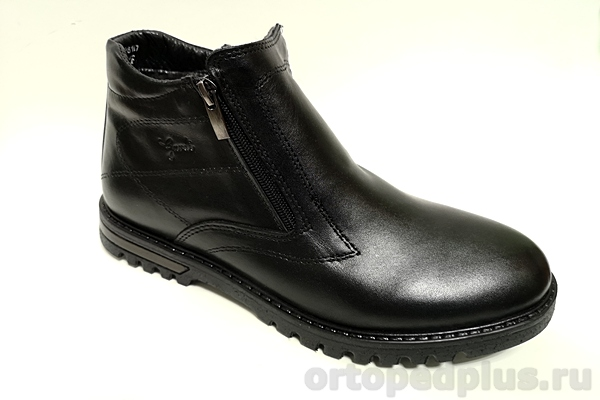 Комфортная обувь Ботинки мужские 0800 2м F зимние черный