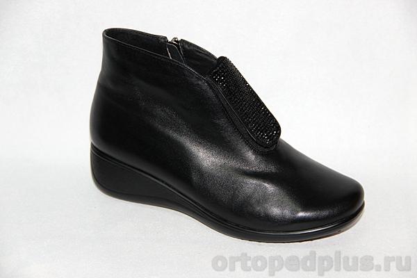 Комфортная обувь Ботинки жен. 14928 черные