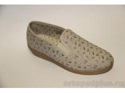 П/ботинки текстильные 179_41615710_400 бежевый