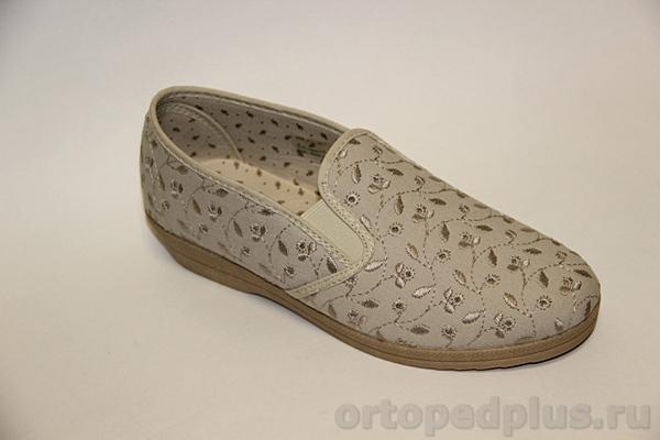 Комфортная обувь П/ботинки текстильные 179_41615710_400 бежевый