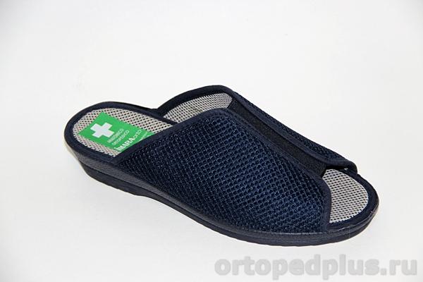 Комфортная обувь Босоножки текстильные 179_416265I10_805 синий