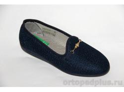 Туфли женские текстильные 179_F75I8_805 синий