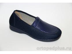 Туфли текстильные 183_55908_805 синий