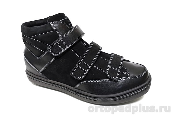 Комфортная обувь Ботинки 190337 черный