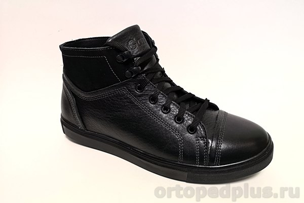 Комфортная обувь Ботинки мужские 214 шн.м.F зимние черный