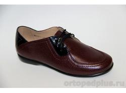 Туфли женские 3084 бордовый
