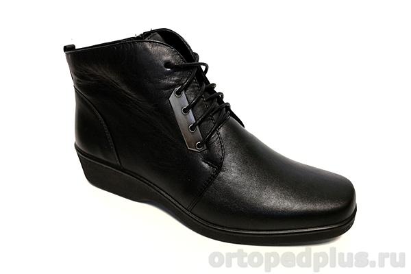 Комфортная обувь Полусапожки женские 6134-2 черный