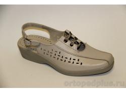 Туфли женские 675 бежевый