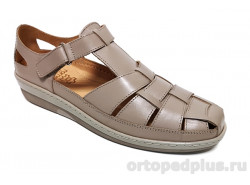 Женские туфли 814644-8 св. коричневый