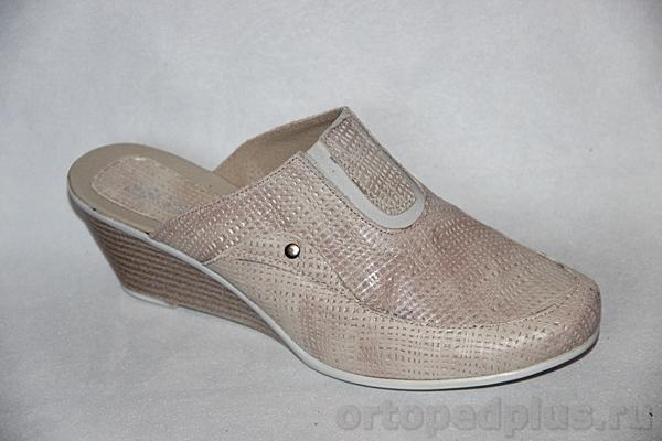 Комфортная обувь Босоножки Q1388 бежевый