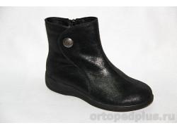 Ботинки жен. 22014 черн.