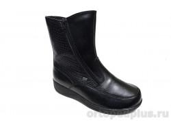 Ботинки жен. 25016 черный