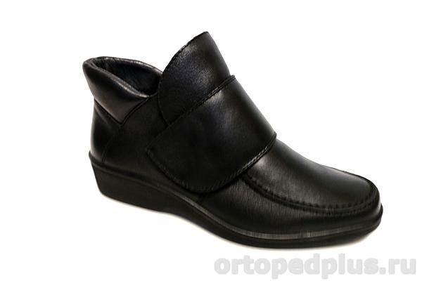Комфортная обувь Полусапожки женские 6135-2 черный