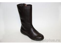 Сапоги женские 654 коричневый