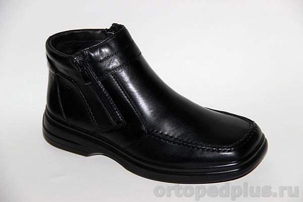 Комфортная обувь Ботинки мужские 751 черный